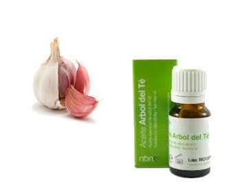 aceite arbol de te y ajo para tratar gardnerella