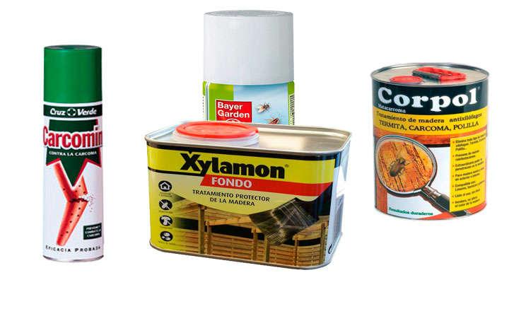 Los mejores insecticidas para matar termitas de la madera - Carcoma tratamiento casero ...
