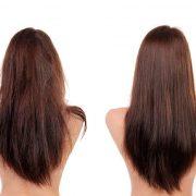 Tratamiento con keratina para el pelo rizado