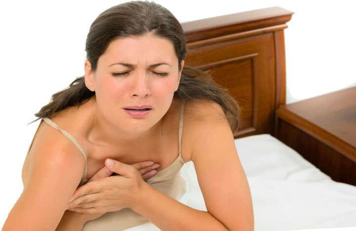 Dolor al lado izquierdo del pecho al respirar profundo