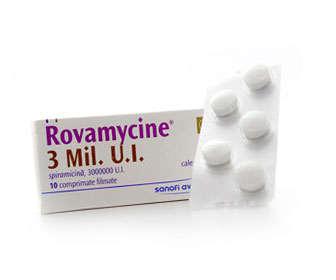 rovamycine antibiotico